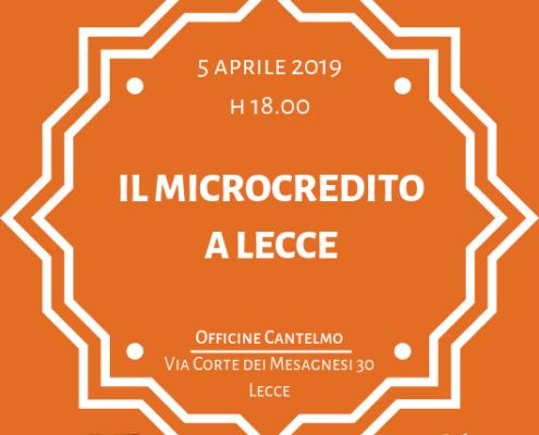 Il microcredito a Lecce